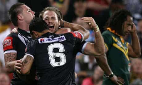 Kiwis v Kangaroos - Four Nations Final 2
