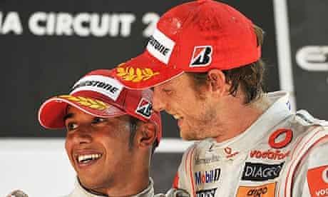 Lewis Hamilton Jenson Button McLaren