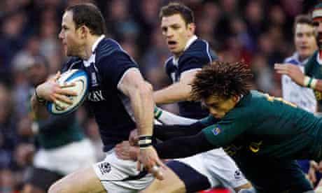 Scotland's Graeme Morrison
