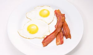 bacon and eggs Ashes