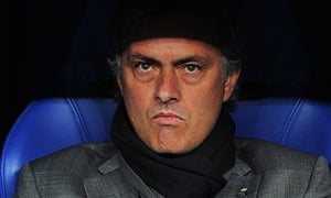 Jose Mourinho's Real Madrid lead Barcelona by one point at the top of La Liga