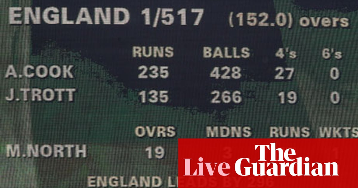 The Ashes: Australia v England - day five as it happened