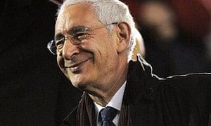 The former FA chairman Lord Triesman