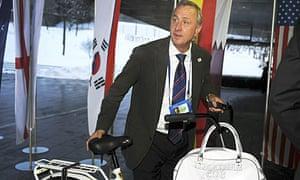 Johan Cruyff, Dutch football legend and