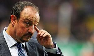 Internazionale coach Rafael Benitez