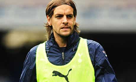 The Tottenham defender Jonathan Woodgate
