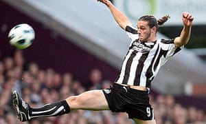 Andy Carroll, the Newcastle striker