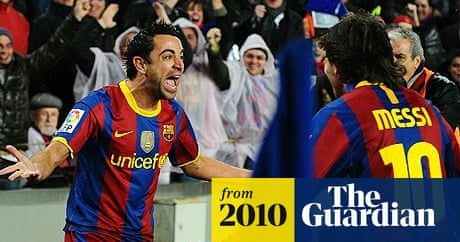Lionel Messi Xavi And Andres Iniesta Shortlisted For Ballon D Or Football The Guardian