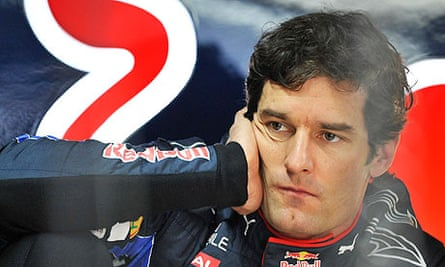 Mark Webber drove in the final four races of the F1 season with a broken shoulder