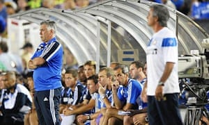 José Mourinho and Carlo Ancelotti