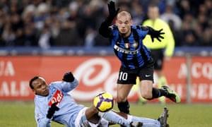 Inter's Wesley Sneijder