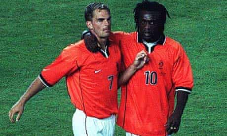 Clarence Seedorf and Ronald de Boer