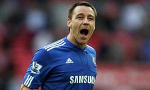 John Terry -  Aston Villa v Chelsea