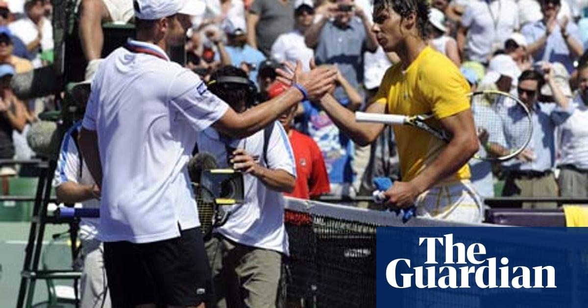 Rafael Nadal Loses To Andy Roddick In Semi Finals In Miami Sport The Guardian