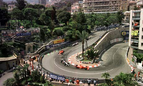 monaco grand prix the race where heroes are made sport the guardian. Black Bedroom Furniture Sets. Home Design Ideas