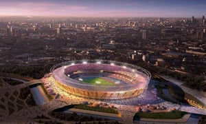2012 Olympic stadium unveiled