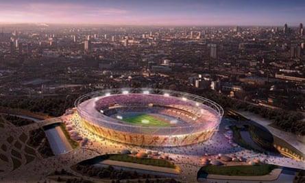 2012 Olympic stadium unveiled