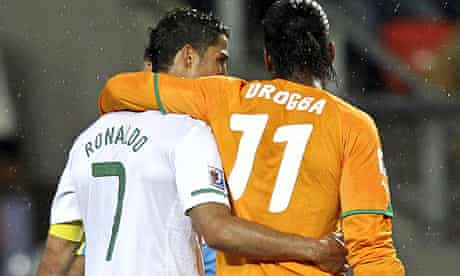 Ronaldo Drogba