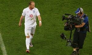 England v Algeria Rooney