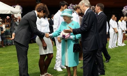 The Queen comes to Wimbledon