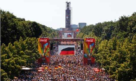 Germany fans in Berlin