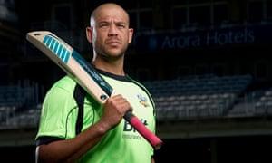Cricketer Andrew Symonds