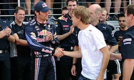 Mark Webber and Sebastian Vettel.