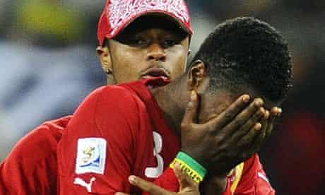 Asamoah Gyan hears the news of Liverpool's interest