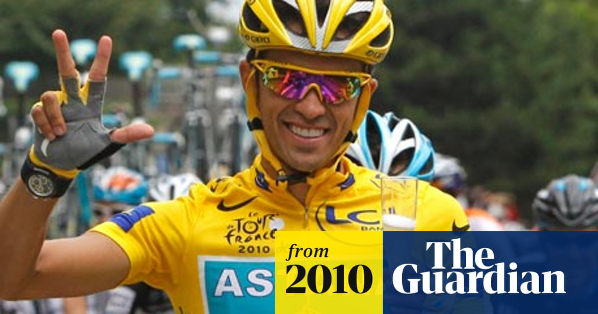 Alberto Contador Wins Tour De France As Mark Cavendish