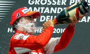 TOPSHOTS Ferrari's Spanish driver Fernan