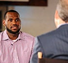 LeBron James announces his decision to join the Miami Heat during a ESPN telecast