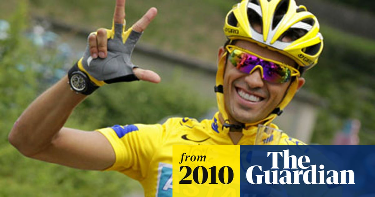 Alberto Contador To Leave Astana And Replace Andy Schleck