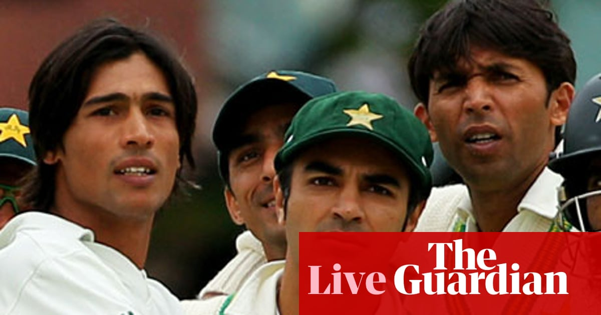 Pakistan match-fixing scandal – live | Sport | The Guardian