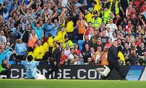 Soccer - Barclays Premier League - Manchester City v Arsenal - City of Manchester Stadium