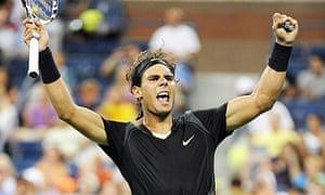 Rafael Nadal beats Denis Istomin
