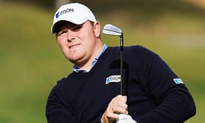 Elliot Saltman of Scotland who has been banned from golf for three years