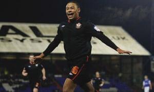 Southampton's Alex Oxlade-Chamberlain celebrates scoring against Oldham