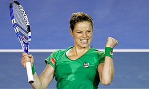 Australian Open 2011 Kim Clijsters Tested But Reaches