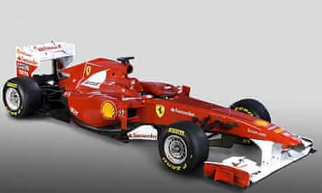 Ferrari Unveil Their New F1 Car For The 2011 Season The F150 Ferrari The Guardian