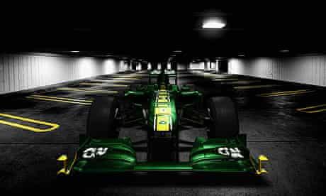 Team Lotus Launch  T128
