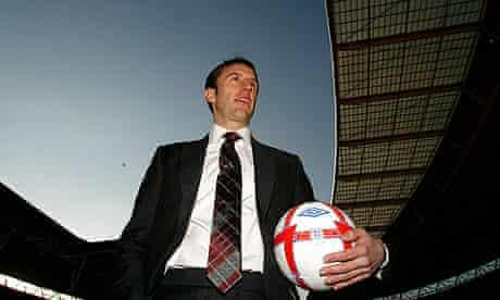 Gareth Southgate at Wembley