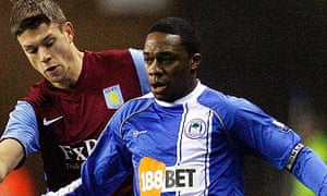 Charles N'Zogbia, the Wigan winger