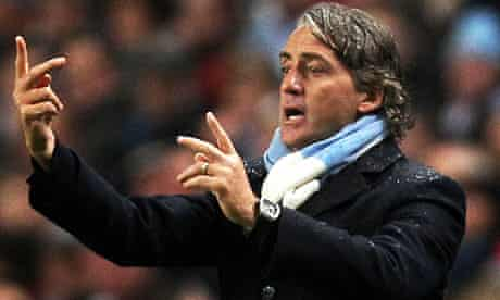 Manchester City's Roberto Mancini says he can learn from Sir Alex Ferguson.