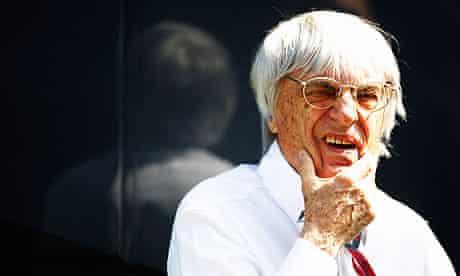 F1 Supremo Bernie Ecclestone is looking forward to next Sunday's Indian Grand Prix