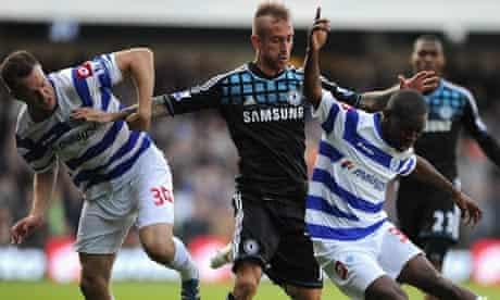 Chelsea's Raul Meireles makes life difficult for QPR