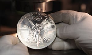 Each London 2012 medal takes 10 hours to make