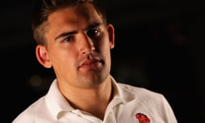 Toby Flood of England