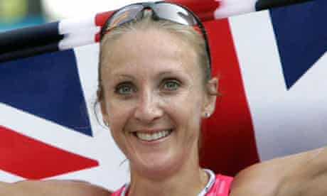 Paula Radcliffe, marathon runner