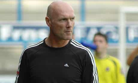 Halifax Town manager Neil Aspin