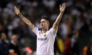 Robbie Keane of the Los Angeles Galaxy